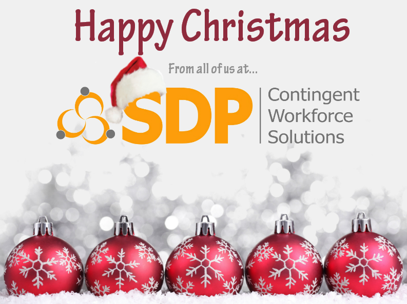 Happy Christmas from SDP Solutions Contractor Management Company to our contractors, recruitment agencies and clients