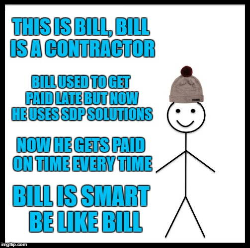 Get paid on time contractors with SDP Contingent Workforce Solutions.